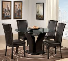cabinet round black kitchen table sca ii casual dining pc