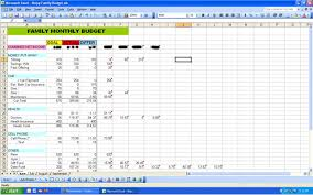 5 best images of sample excel budget spreadsheet personal budget