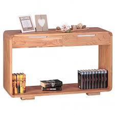Schreibtisch 100 X 40 Konsolentisch Landhaus Massivholz Akazie Konsole Mit 2