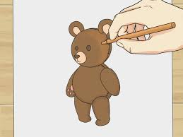 how to draw teddy bears 10 steps with pictures wikihow