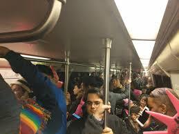 crushed by escalator the women u0027s march on washington pushed metro to its limits