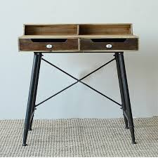 Vintage Makeup Vanity Table Furniture Loft Old Industrial Style Wrought Iron Tables Wrought