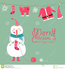 funny and cute christmas card stock photography image 29479222