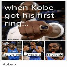 Nba Memes Tumblr - when kobe got his first rin nba memes tumblr com city 12 yrs old 12