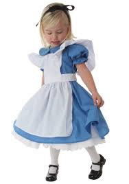 Girls Halloween Costumes Kids Deluxe Toddler Alice Costume