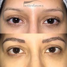 Hair Stroke Eyebrow Tattoo Nyc I Tried Microblading And My Brows Look Better Than Ever