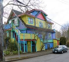 can u0027t decide on the color to paint your house so use them all