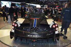 new pagani pagani huayra bc rear at 2016 geneva motor show indian autos blog