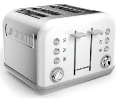 buy morphy richards accents 242032 4 slice toaster white free