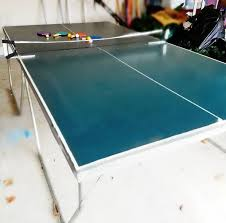 used outdoor ping pong table used ping pong table gotta go fast need room sports outdoors