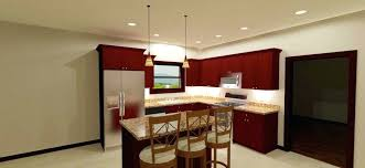how far away from the wall should recessed lighting be what size recessed lights for kitchen colecreates com