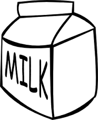milk jug clipart outline pencil and in color milk jug clipart