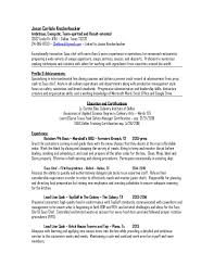 Culinary Resume Examples executive chef resume template pdf chef resume template 15 chef