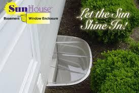 window well sunhouse basement window well enclousure