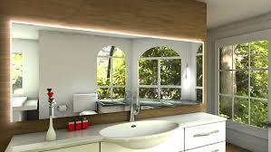 badspiegel led beleuchtung laon badspiegel mit led beleuchtung b 130 cm x h 80 cm amazon