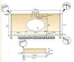 Kitchen Countertop Dimensions Typical Bathroom Vanity Sizes Tsc