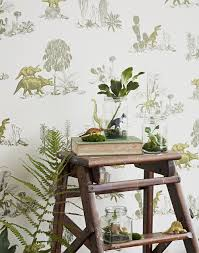 childrens dinosaur wallpaper white rabbit england childrens