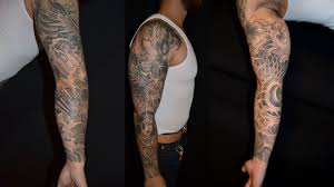 new traditional sleeve tattoos