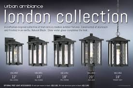 craftsman outdoor pendant light uql1054 craftsman outdoor pendant light 19 h x 10 5 w natural