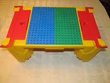 Lap Desk With Storage Compartment Lego Table Ebay