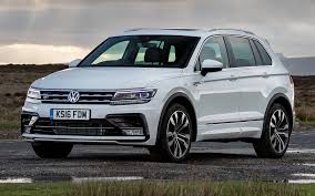 volkswagen tiguan 2016 volkswagen tiguan r line 2016 uk wallpapers and hd images car
