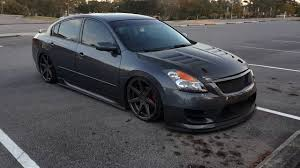 nissan altima coupe gtr front bumper modded 2009 nissan altima walk around and where i got my parts