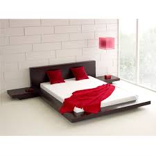 Circular Platform Bed by King Modern Japanese Style Platform Bed With Headboard And Retail