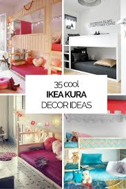 35 cool ikea kura beds ideas for your kids rooms digsdigs some nice ideas to decorate a kids room with ikea kura beds they are cheap and awesome