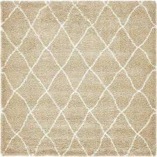 tan square 7 u0027 and larger area rugs rugs the home depot