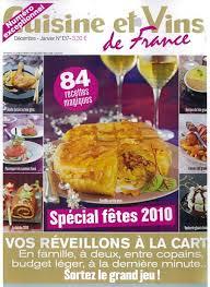 cuisines et vins article