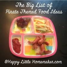 cuisine pirate the big list of pirate themed food ideas pirate week