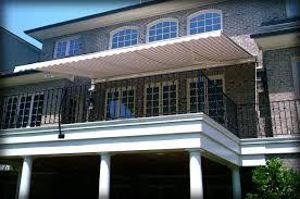 retractable deck awnings u0026 retractable deck canopies
