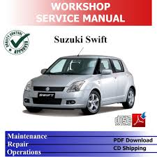 suzuki swift 2004 u002710 4x4 1 6 1 5 1 3 l workshop service repair