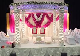 crystal mandap uk marriage stage decoration wedding stages