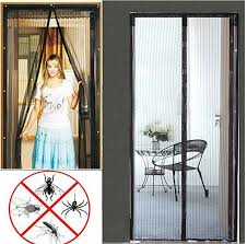 Patio Door Net Curtains Fly Curtains For Patio Doors 2 Insect Net For Patio Doors Magic