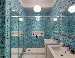 bathroom tile simple blue mosaic tile bathroom home style tips