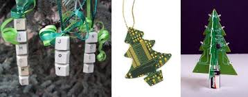 cool techie ornaments to geekify that tree