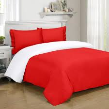Red Duvet Set Duvet Covers Amadora Designed Concepts