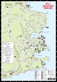 Map Walking Distance Walks And Bike Trails U2013 Visit Mallacoota