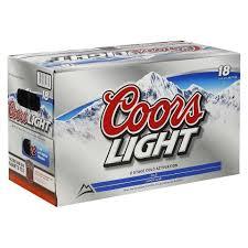 coors light 18 pack coors brewing company coors light liquor locker