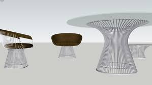 Warren Platner Chair Warren Platner Furniture 3d Warehouse