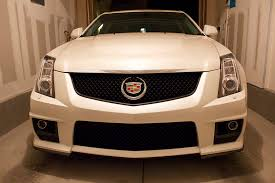 cadillac cts v grill pics of only gril blacked out or grille and window trim