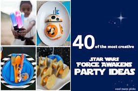 Star Wars Birthday Decorations 40 Star Wars The Force Awakens Birthday Party Ideas