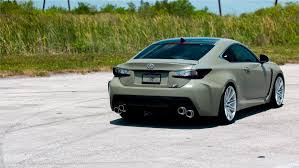lexus ls custom army green lexus rc f u0026 white gs f pose on custom rims auto moto