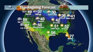 weather for thanksgiving travel woes tying you up weathernation