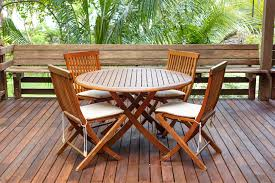 Teak Patio Chairs Why Choose Wood Patio Furniture