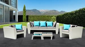 canapé de jardin design stunning salon de jardin blanc et bleu gallery amazing house