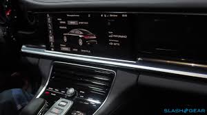 porsche panamera interior 2016 2017 porsche panamera 4s and turbo every techie u0027s dream car