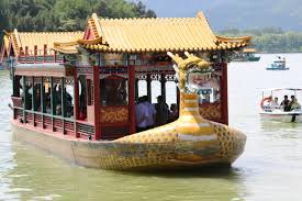 riding a slow boat in china at beijing u0027s summer palace oh the
