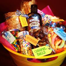 create your own gift basket diy make your own sundae kit kelsi wilson